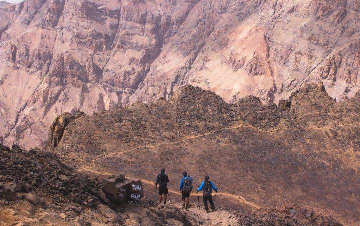 Trekking Toubkal ruta bereber II