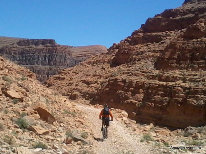 MTB en el Anti-Atlas