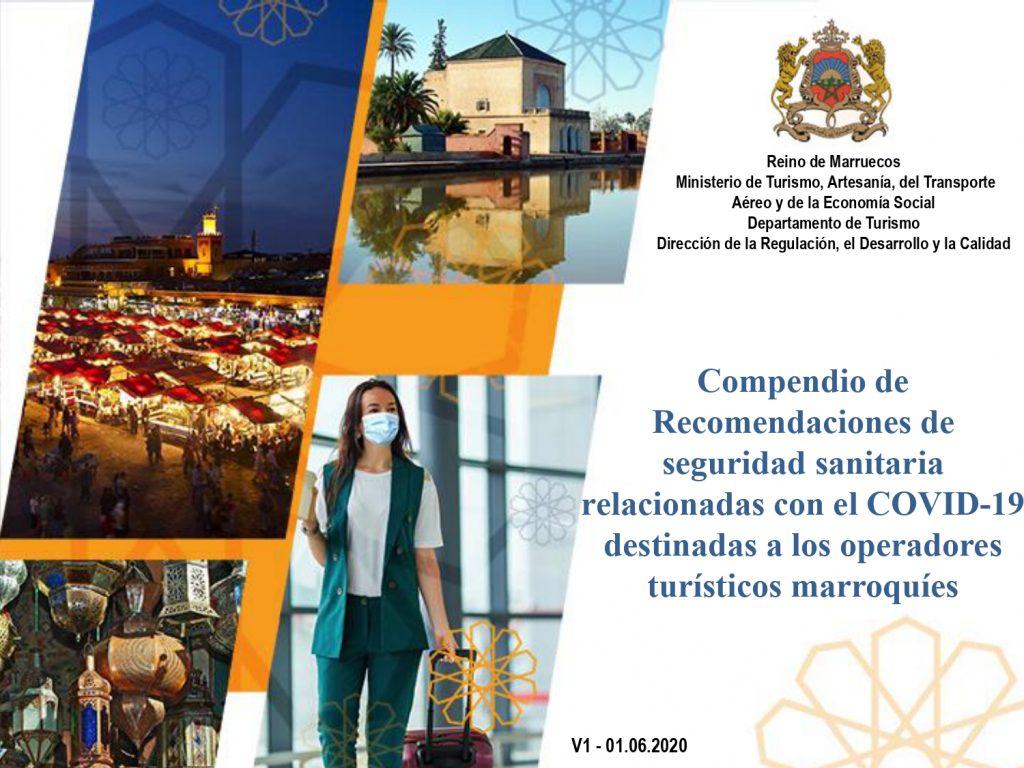 Recomendaciones de seguridad sanitaria relacionadas con el COVID-19 destinadas a los operadores turísticos marroquíes